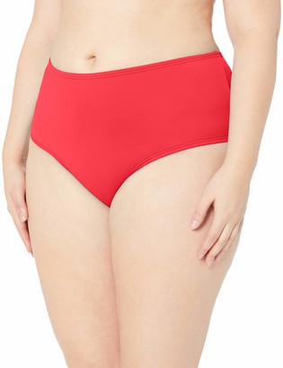 Sunsets Curve Women's Plus Size Road High Waist Bikini Bottom Swimsuit