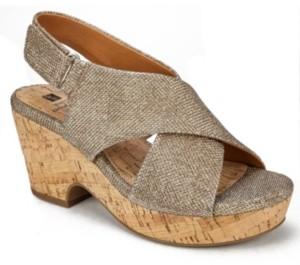 White Mountain Women's Covington Platform Sandals Women's Shoes