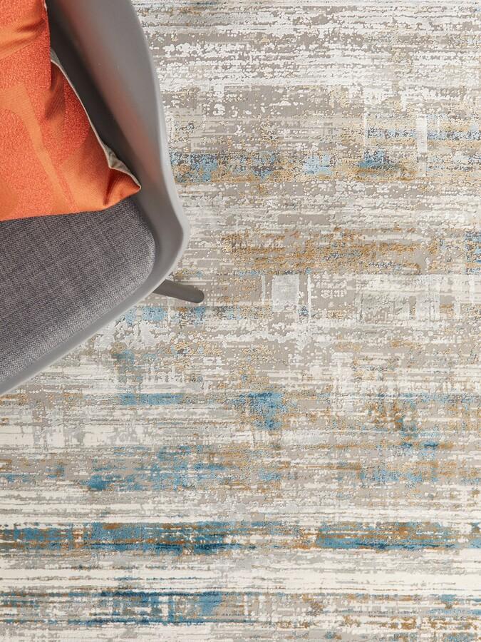 Thumbnail for your product : John Lewis & Partners Alora Rug, L230 x W160 cm, Blue