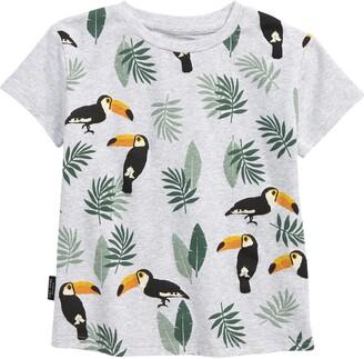 TINY TRIBE Kids' Toucan Print T-Shirt