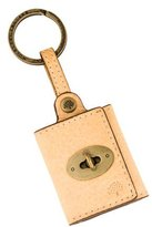 Mulberry Leather Photo Holder Keychain