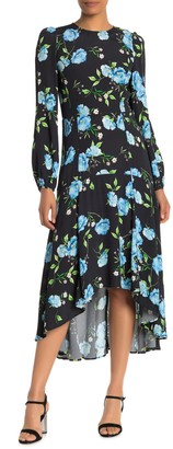 Yumi Kim With The Flow Floral Midi Dress