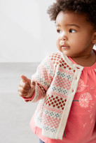 Tea Collection Momiji Cotton Cardigan (Baby Girls)