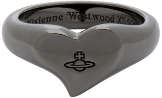 Vivienne Westwood Gunmetal Marybelle Ring