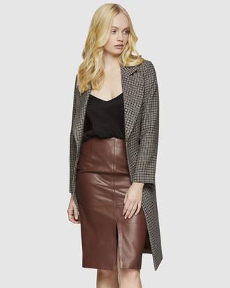 Oxford Farah Check Coat