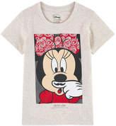 Little Eleven Paris Moustache T-shirt Minnie