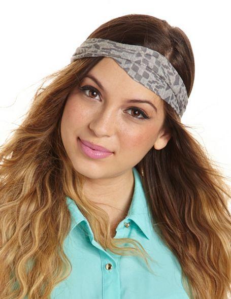 Charlotte Russe Burnout Tribal Headwrap