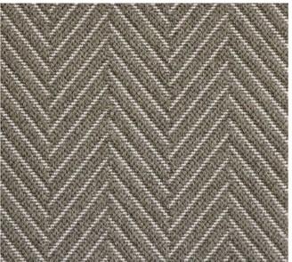 Pottery Barn Fibreworks Custom Textured Chevron Wool Rug Swatch