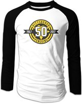 CGCG Stor Pittsburgh Penguins 50th Anniversar Men's Long Sleeve Raglan T Shirt