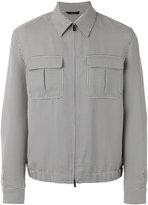 Fendi checked jacket - men - Polyester/Viscose/Cotton - 48