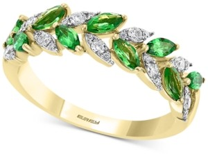 Effy Tsavorite (1 ct. t.w.) & Diamond (1/4 ct. t.w.) Ring in 14k Gold