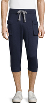 2xist Core Cargo Pocket Capri Sweatpants