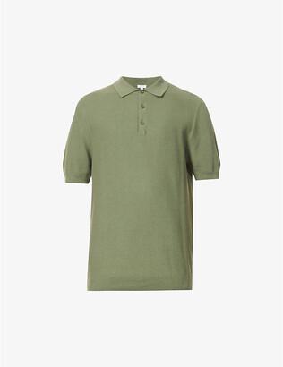 Sunspel Regular-fit cotton-knit polo shirt
