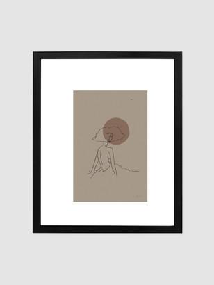 "Spacey Studios ""The Calmness of June"" Framed Print"