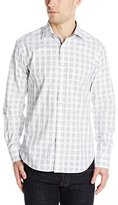 Bugatchi Men's Bento Long Sleeve Shaped Button Down Shirt