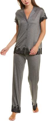 Natori Josie 2Pc Charlize Pajama Pant Set