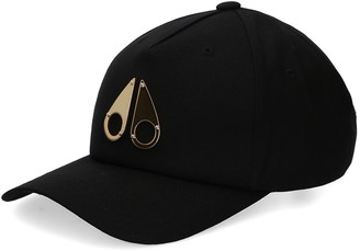 Moose Knuckles Gold Logo Icon Cap