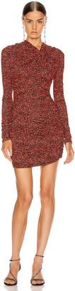 Isabel Marant Jobia Dress in Red | FWRD