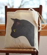 Bird Sooty Black Cat Handy Bag
