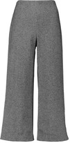 By Malene Birger Cropped wool-blend wide-leg pants