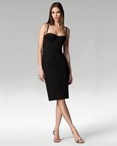 Stretch Cotton Bustier Dress