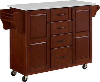 Crosley Eleanor Granite Top Kitchen Cart
