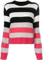 Rag & Bone striped knitted top