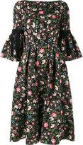 Erdem Aleena floral matelassé dress
