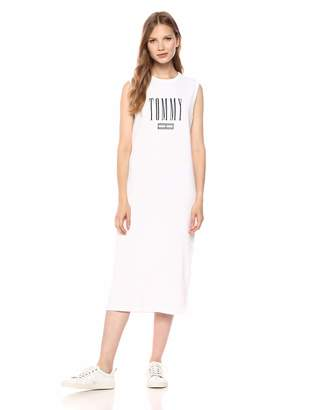 Tommy Jeans Women's T Shirt Dress with Logo