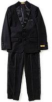 Class Club Gold Label Big Boys 8-20 2-Piece Satin-Trimmed Tuxedo Suit Set