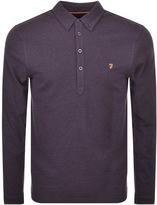 Farah Merriweather Polo T Shirt Purple