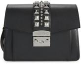 Mario Valentino Adin Palmeletto Studded Leather Crossbody Bag