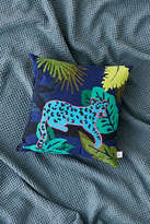 Urban Outfitters Neon Cat Throw Pillow
