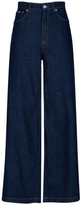 Dolce & Gabbana Wide Leg Denim Jeans