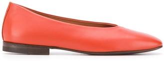 Henderson Baracco Square Toe Ballerina Shoes