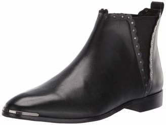 Ted Baker Women's Alizerl Chelsea Boot Black Leather 5 Medium US