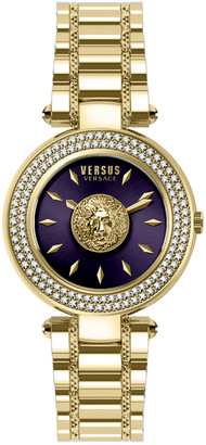 Versace Women's Brick Lane Crystal Watch