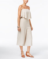 Thalia Sodi Strapless Wide-Leg Jumpsuit, Only at Macy's