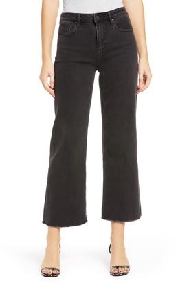 Vigoss Dylan High Waist Crop Flare Jeans