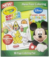 Crayola Color Wonder Disney Preschool Coloring Pad Refill Book