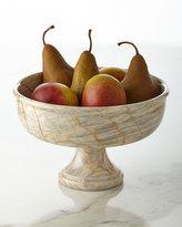 Janice Minor Large Century Marble Pedestal Bowl