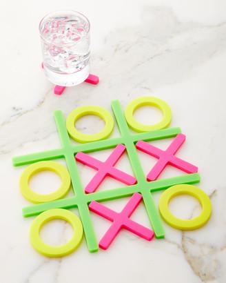 Moma Tic Tac Trivet Coasters Neon
