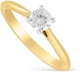 Aurora 18ct gold 0.40 carat diamond solitaire ring