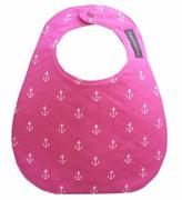 Sweet Seraphina Pink Anchor Bib