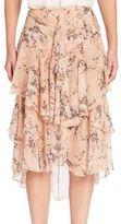 Jason Wu Honey Blossom Chiffon Skirt