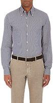 Piattelli MEN'S CHECKED COTTON-BLEND DRESS SHIRT