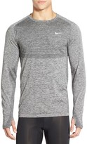 Nike Slim Fit Long Sleeve Dri-FIT Running T-Shirt