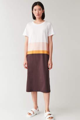 Cos COTTON T-SHIRT DRESS