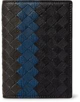 Bottega Veneta Intrecciato Pebble-grain Leather Bifold Cardholder - Black