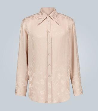 Gucci G daisies jacquard shirt